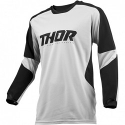 Bluza Thor Terrain white/black