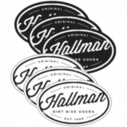 Naklejki Hallman Goods...