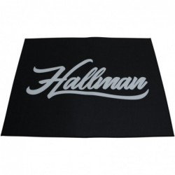 Mata podłogowa Hallman Black